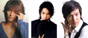 Jerry Yan - Matsumoto Jun - Lee Min-Ho