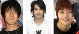 Vanness Wu - Abe Tsuyoshi - Kim Joon